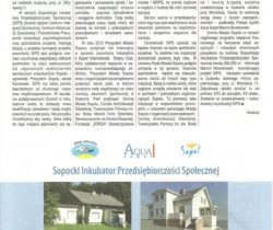 Incubator Project with Sopot Town Council