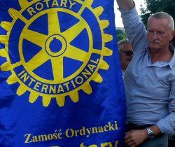 Rotarians from different Polish clubs on intagration trip to Ukraine