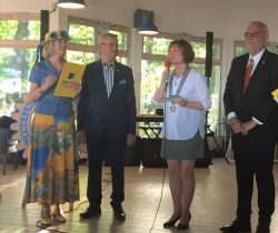 Bendt Haverberg was installed as President of Sopot International Rotary Club