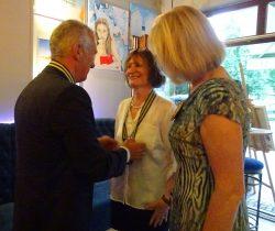 Ela Utch was installed as President of Sopot International Rotary Club