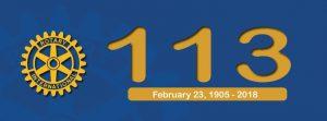 Rotary Birthday   23.February 1905