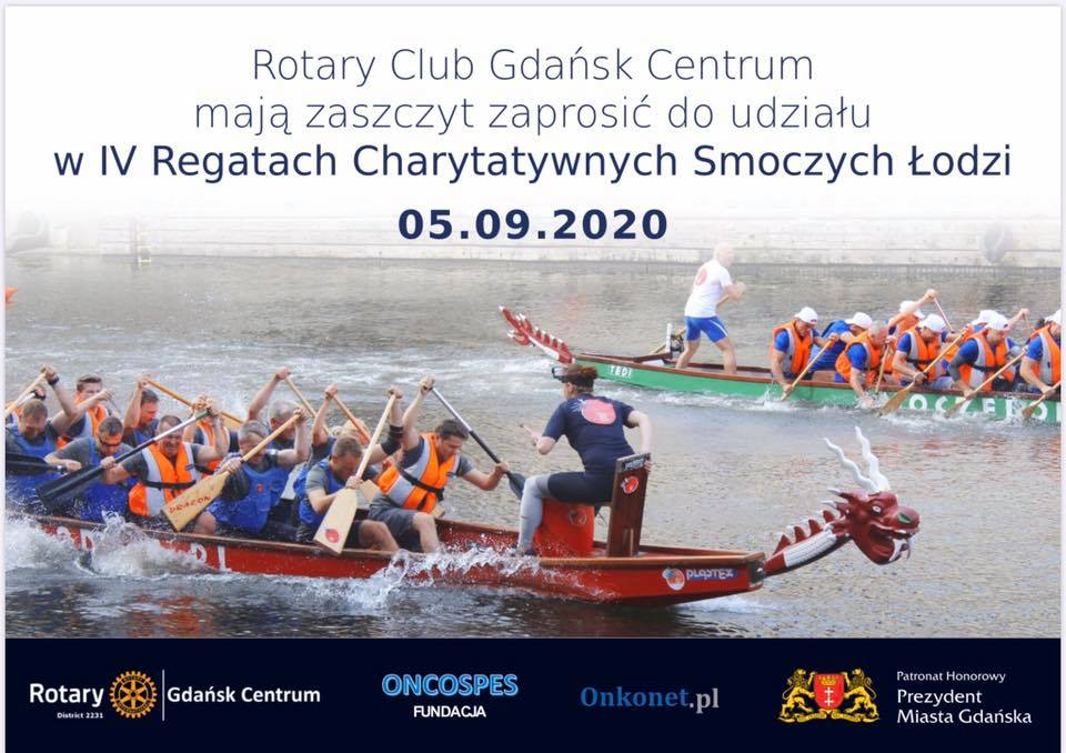 RC Gdansk Centrum IV Charity Regatta of dragon boats @ Gdańsk, Motława | Gdańsk | pomorskie | Poland